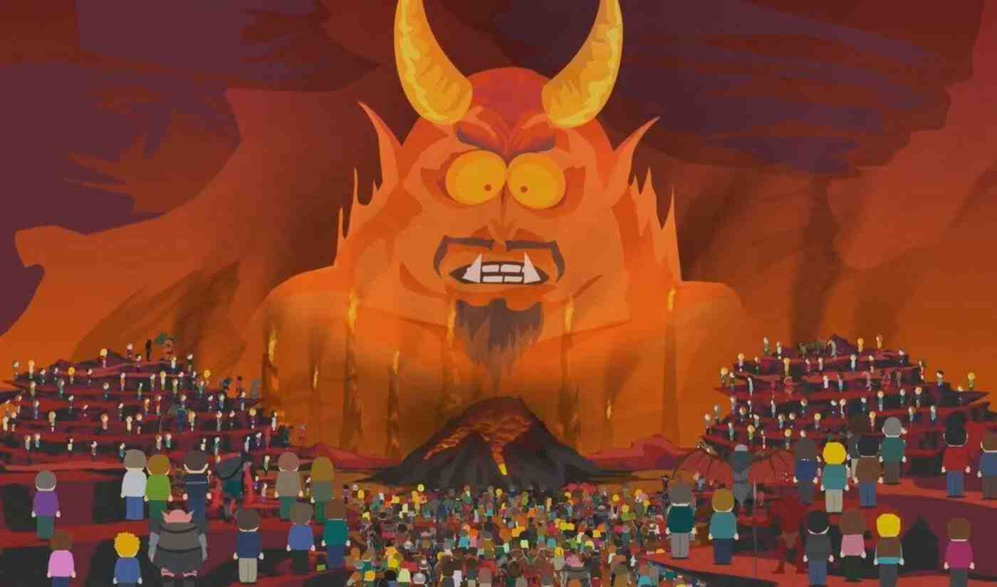 Image of hell from