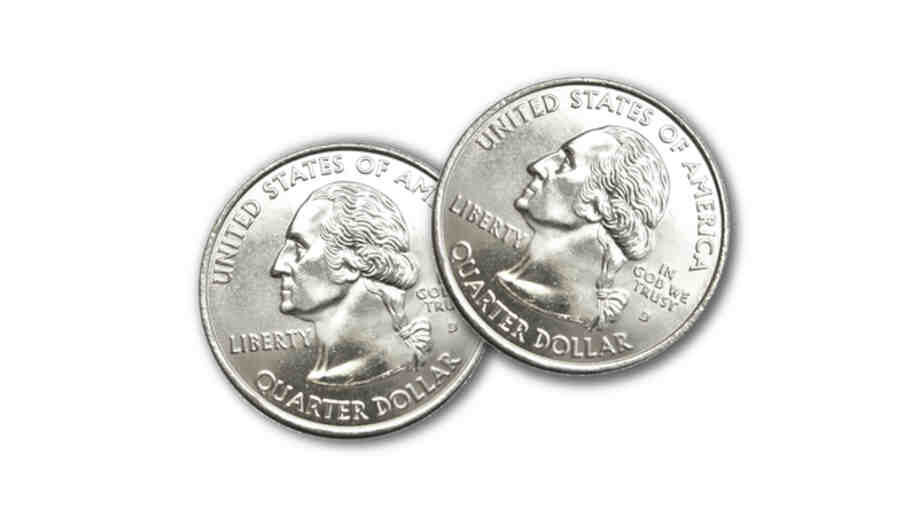 Image Of Two Quarters
