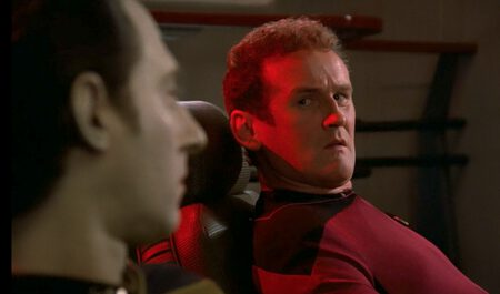 Chief O'Brien in happier times